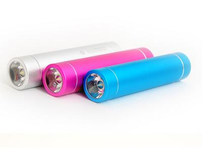 OEM Flashlight power bank with laser logo