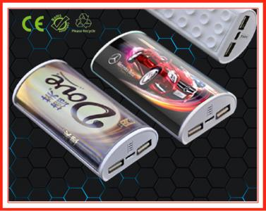 New Design 6000mah USB Power Bank,USB Travel Charger