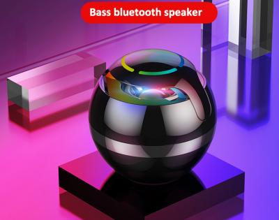 CASUN mini hyun colorful breathing light wireless ball shape speaker round bluetooth speaker